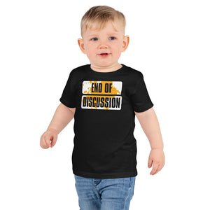 Toddler Short sleeve kids t-shirt---End of Discussion---Click for more shirt colors