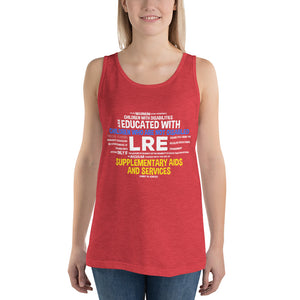 Unisex  Tank Top---LRE Word Art---Click for more shirt colors