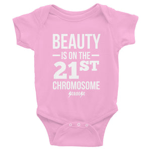 Infant Bodysuit---Beauty White Design---Click for more shirt colors