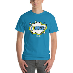 Short Sleeve T-Shirt Thick Cotton to Make Dad Happy------I Farted---Click for more shirt colors