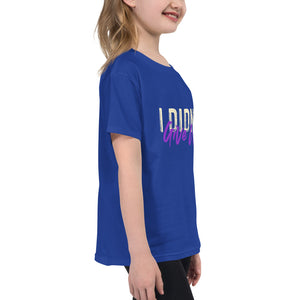 Youth Short Sleeve T-Shirt---I didn't Give Up---Click for more shirt colors