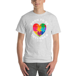 Short-Sleeve T-Shirt Thick Cotton To Make Dad Happy---Born To Be Included--Click for more shirt colors