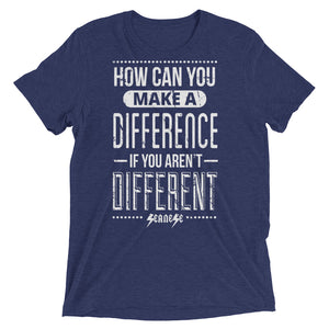 Upgraded Soft Short sleeve t-shirt---How Can You Make a Difference---Click for more shirt colors
