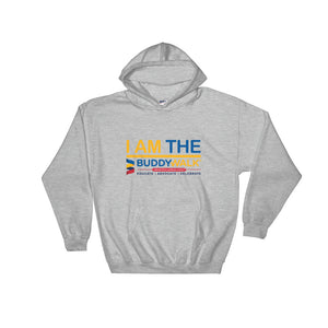 Hooded Sweatshirt---I Am The Buddy Walk---Click for More Shirt Colors