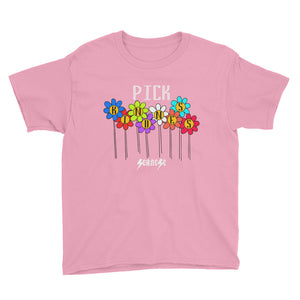 Youth Short Sleeve T-Shirt---Pick Kindness---Click to see more shirt colors