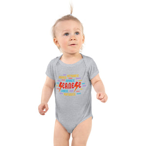 Infant Bodysuit---Seanese Languages---Click for more shirt colors