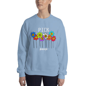 Sweatshirt---Pick Kindness---Click to see more shirt colors