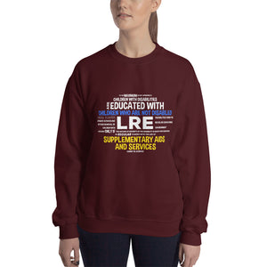 Sweatshirt---LRE Word Art---Click for more shirt colors