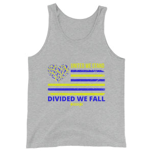 Unisex  Tank Top---United We Stand Divided We Fall---Click for more shirt colors