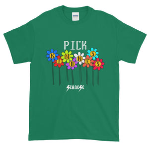 Short-Sleeve T-Shirt Thick Cotton to Make Dad Happy---Pick Kindness---Click to see more shirt colors