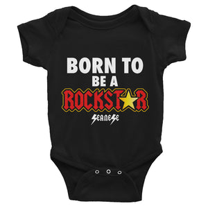 Infant Bodysuit---Born to Be A Rockstar
