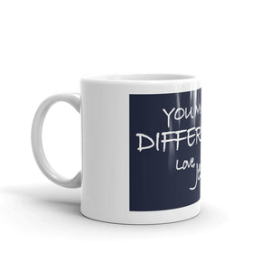 Mug---You Make A Difference. Love, Jesus