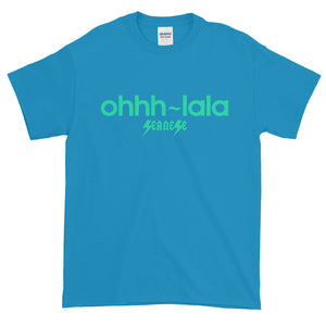 Short-Sleeve T-Shirt Thick Cotton to Make Dad Happy---Ohhhh-LaLa---Click to see more shirt colors