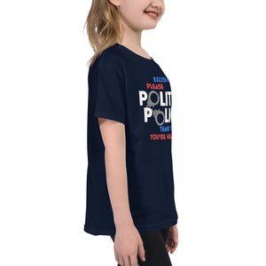 Youth Short Sleeve T-Shirt---Polite Police---Click for more shirt colors