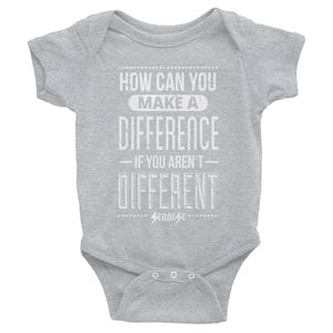 Infant Bodysuit---How Can You Make a Difference---Click for more shirt colors