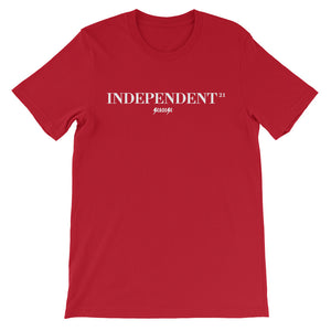 Unisex short sleeve t-shirt-----21Independent---Click for more shirt colors