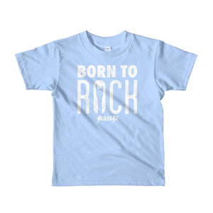 Toddler Short sleeve kids t-shirt---Born To Rock---Click for more shirt colors