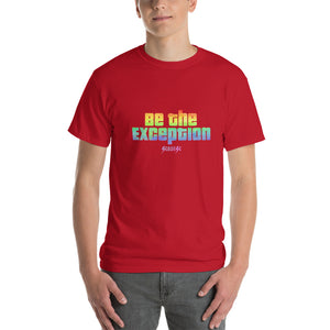 Short-Sleeve T-Shirt Thick Cotton to Make Dad Happy---Be The Exception---Click for more shirt colors