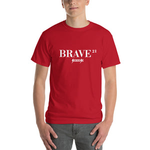 Short Sleeve T-Shirt Thick Cotton to Make Dad Happy---21Brave---Click for more shirt colors