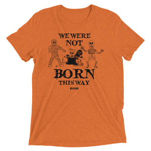 Upgraded Soft Short sleeve t-shirt---Halloween---Orange Shirt
