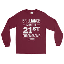 Long Sleeve WARM T-Shirt---Brilliance White Design---Click for more shirt colors