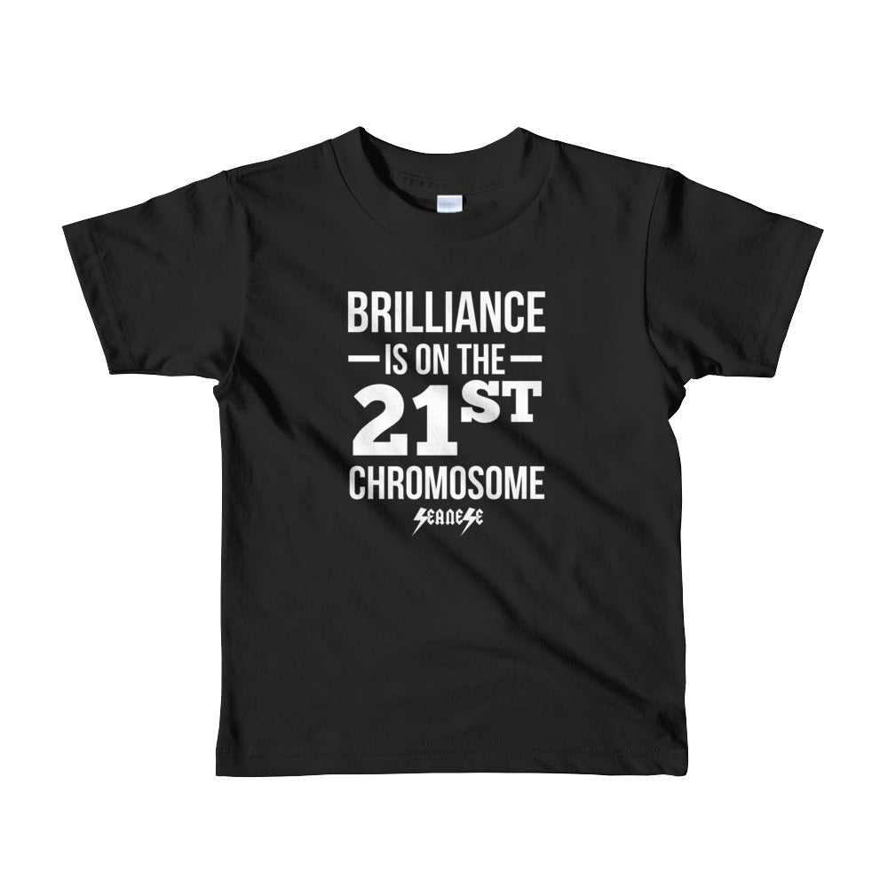 Toddler Short sleeve kids t-shirt---Brilliance--Click for more shirt colors