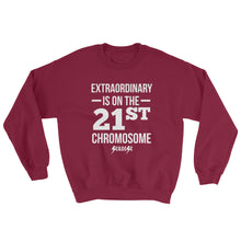 Sweatshirt---Extraordinary White Design---Click for more shirt colors