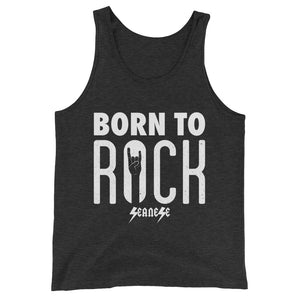 Unisex  Tank Top---Born To Rock---Click for more shirt colors