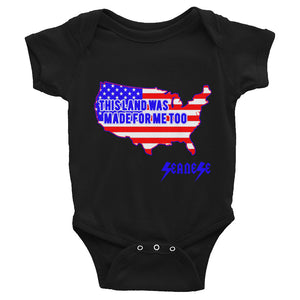 Infant Bodysuit---Land Made for Me Too---Click for more shirt colors