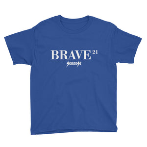 Youth Short Sleeve T-Shirt---21Brave---Click for more shirt colors