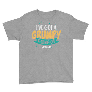 Youth Short Sleeve T-Shirt---I've Got a Grumpy Going On---Click for more shirt colors