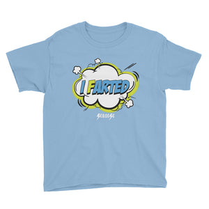Youth Short Sleeve T-Shirt---I Farted---Click for more shirt colors
