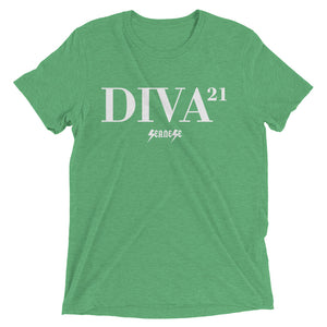 Upgraded Soft Short sleeve t-shirt---21 Diva---Click for more shirt colors