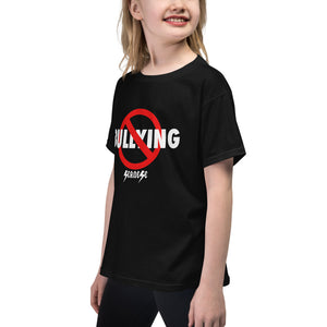 Youth Short Sleeve T-Shirt---No Bullying--Click for more shirt colors