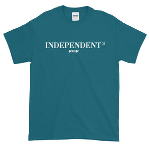 Short sleeve t-shirt Thick Cotton to Make Dad Happy---21Independent---Click for more shirt colors