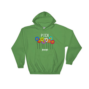 Hooded Sweatshirt---Pick Kindness---Click to see more shirt colors