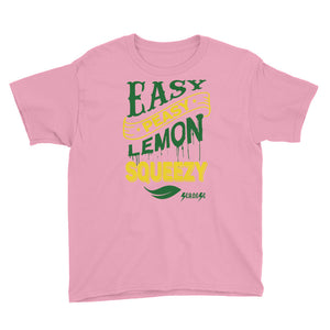 Youth Short Sleeve T-Shirt---Easy Peasy Lemon Squeezy---Click for more shirt colors