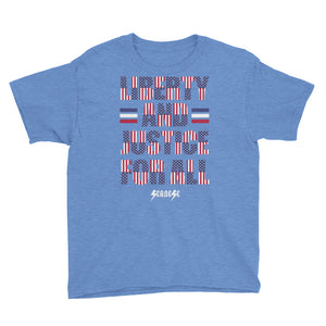 Youth Short Sleeve T-Shirt---Justice for All---Click for more shirt colors