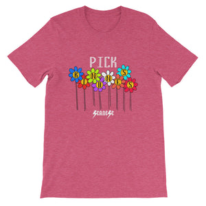 Short-Sleeve Unisex T-Shirt---Pick Kindness---Click to see more shirt colors