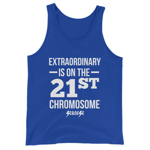Unisex  Tank Top---Extraordinary White Design---Click for more shirt colors