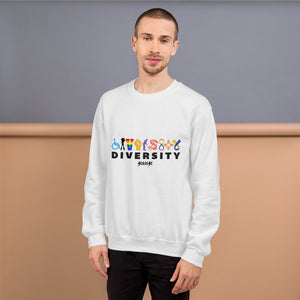 Sweatshirt---Diversity---Click for more shirt colors