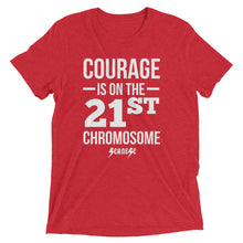 Upgraded Soft Short sleeve t-shirt---Courage White Design---Click for more shirt colors