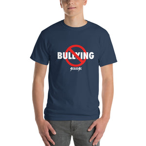 Men's Short-Sleeve T-Shirt Thick Cotton to Make Dad Happy---No Bullying---Click to see more shirt colors