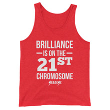 Unisex  Tank Top---Brilliance White Design---Click for more shirt colors