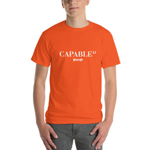 Short Sleeve T-Shirt Thick Cotton To Make Dad Happy---21Capable---Click for more shirt colors
