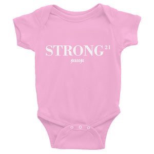 Infant Bodysuit---21Strong---Click for more shirt colors