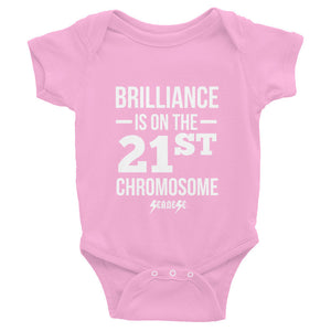 Infant Bodysuit------Brilliance White Design---Click for more shirt colors