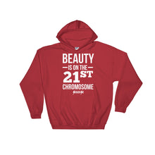 Hooded Sweatshirt---Beauty White Design---Click for more shirt colors