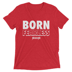 Upgraded Soft Short sleeve t-shirt---Born Fearless---Click for more shirt colors