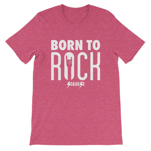 Short-Sleeve Unisex T-Shirt---Born To Rock---Click for more shirt colors